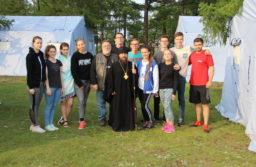Открытие православного семейного палаточного лагеря «Парус надежды – 2018»