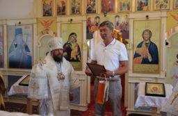 Престольный праздник в храме села Сосново-Озерское