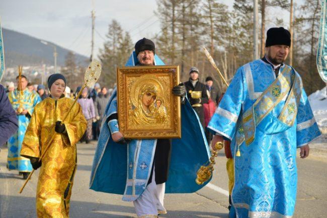 Престольный праздник в Казанском кафедральном соборе