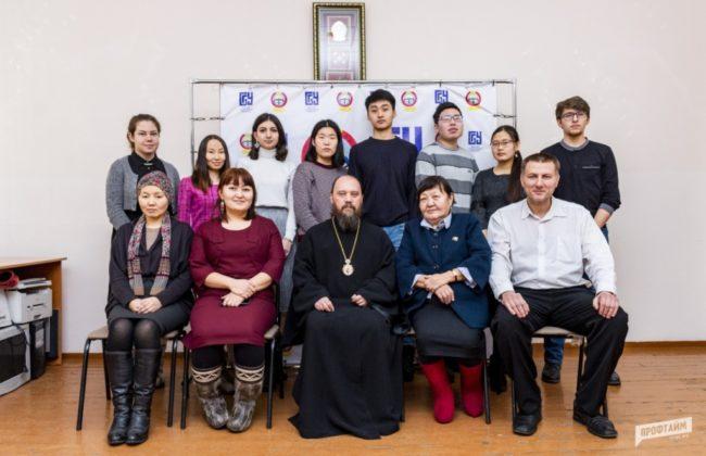 Епископ Николай встретился со студентами кафедры религиоведения и теологии БГУ