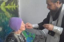 Посещение престарелых и инвалидов в преддверии Рождества Христова