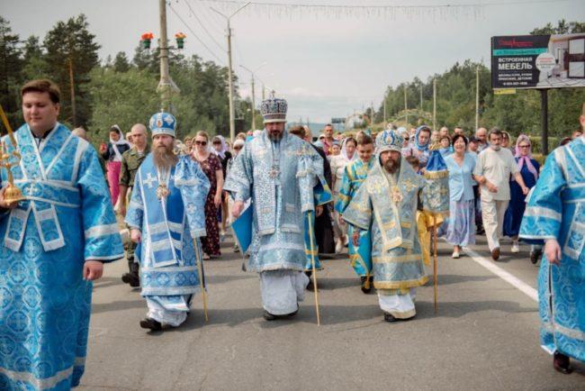 Престольный праздник Казанского кафедрального собора
